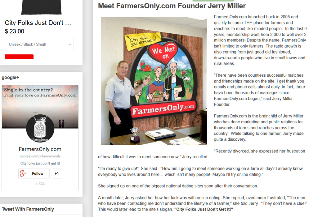 fancy farm dating site Farmersonlycom is a dating site like no other we exist because, the way we see it, there are basically two groups in america we exist because, the way we see it, there are basically two groups in america.