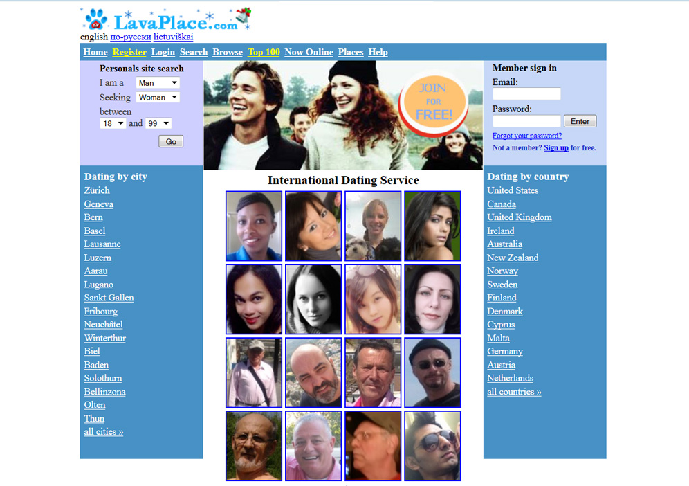 The biggest lover dating site