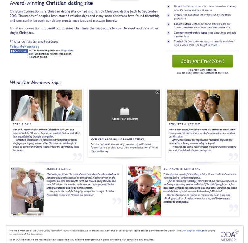 Christian connection dating site