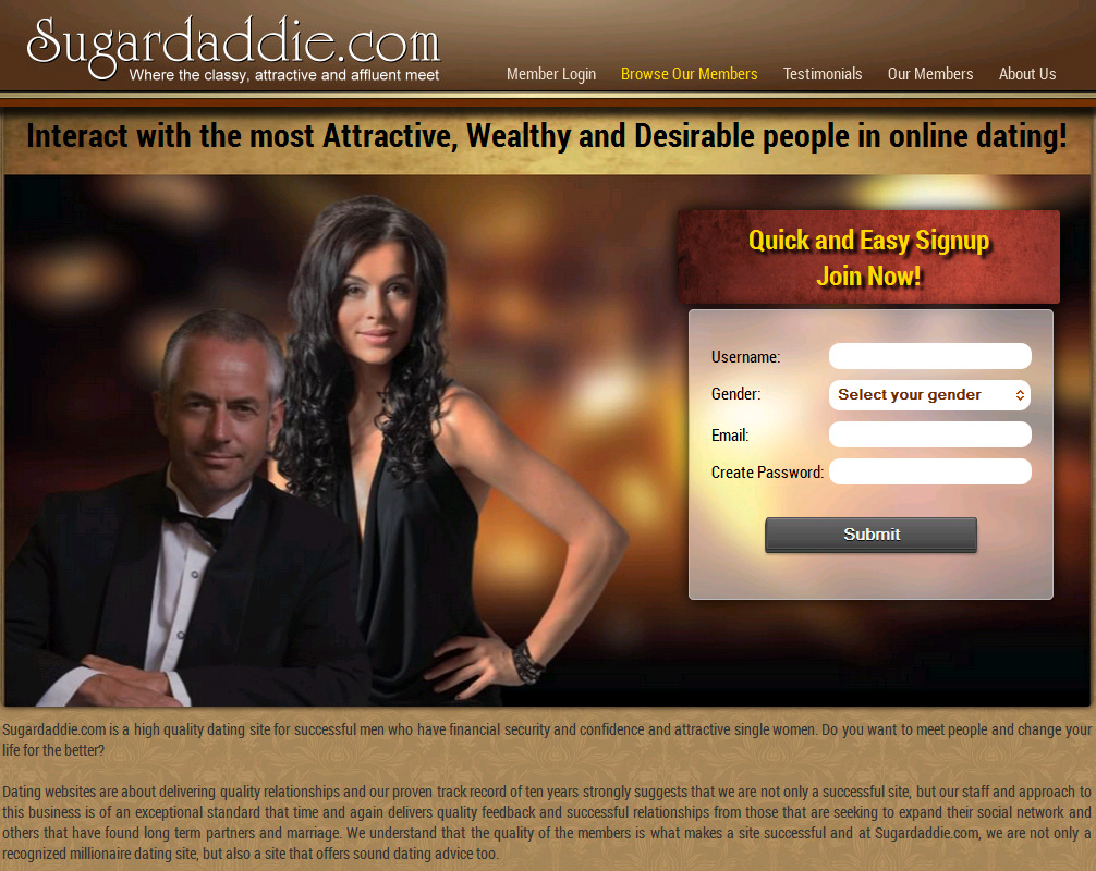 Sugardaddie dating website reviews